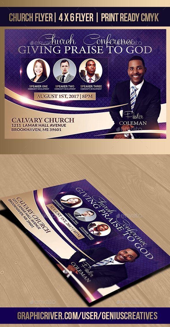 Church Flyer Design Templates
