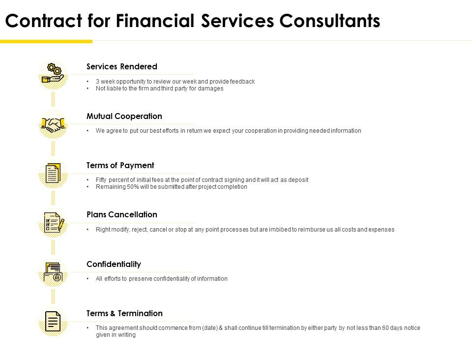 Contract Templates For Consultants