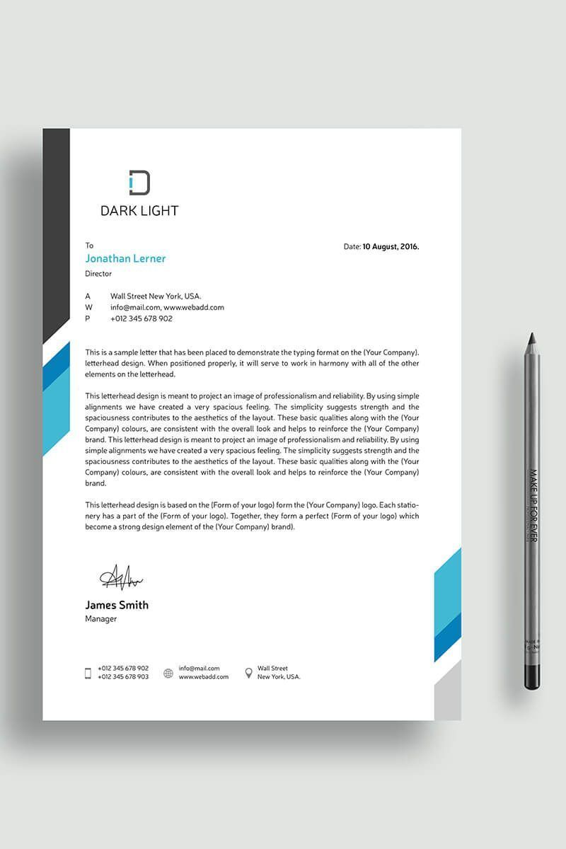 Cool Letterhead Templates