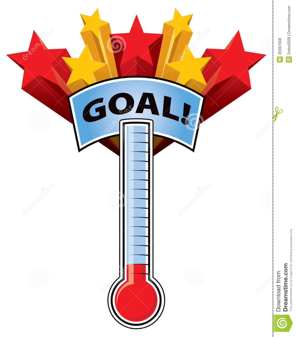 Free Fundraiser Thermometer Template