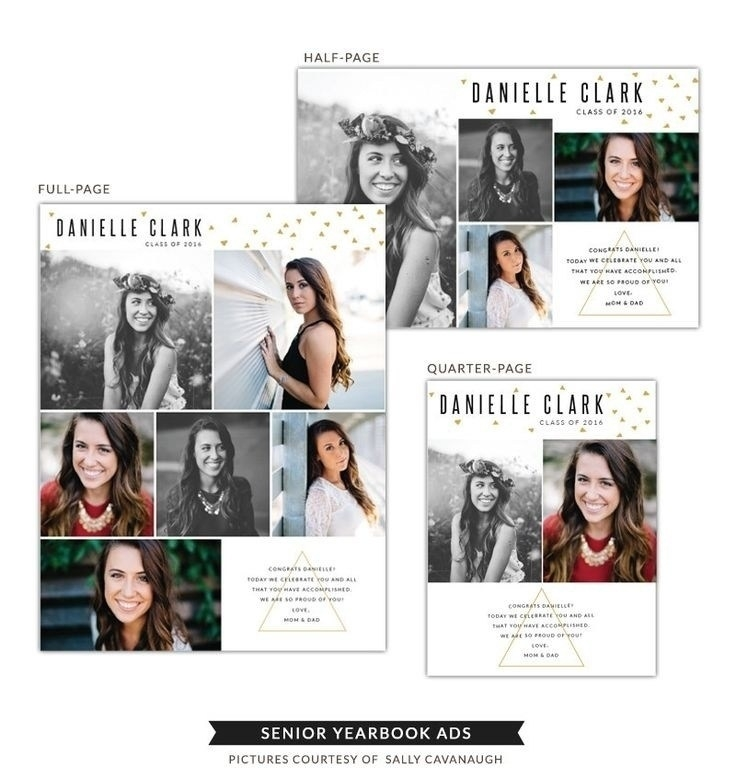 Senior Yearbook Ad Templates Free 2017 | Letter And Format Corner Within Senior Yearbook Ad Templates Free 2018