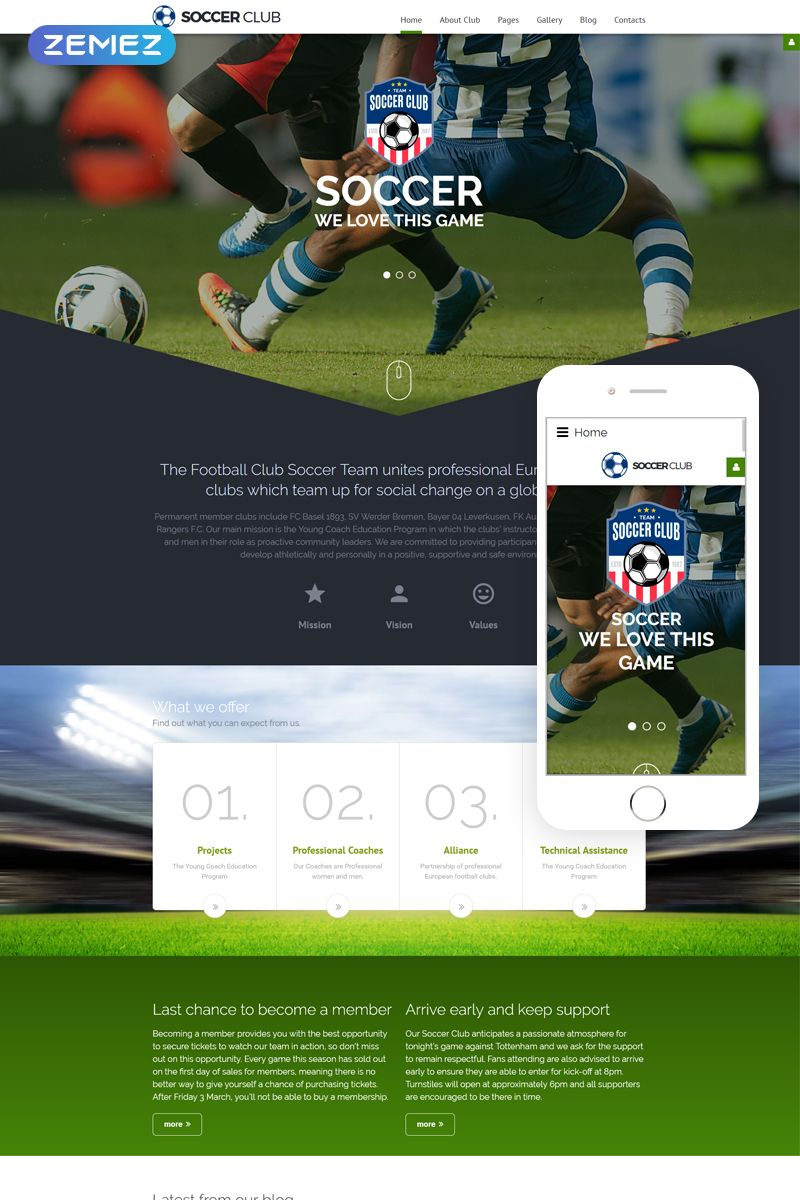 Joomla Club Template
