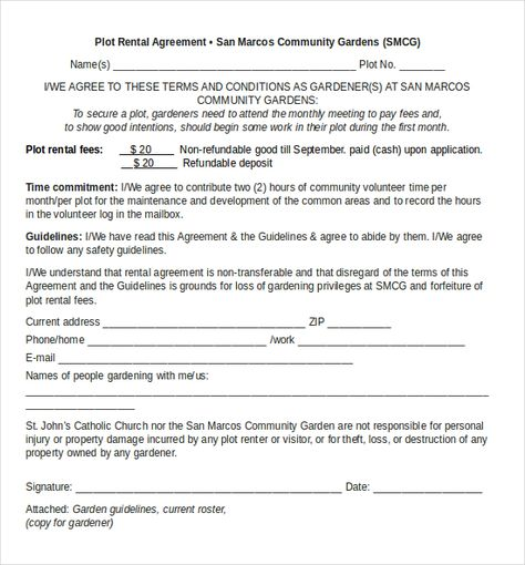 Landlord Tenancy Agreement Template