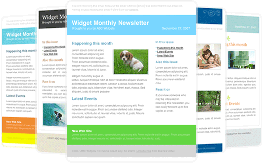 Newsletter Template For Outlook Free