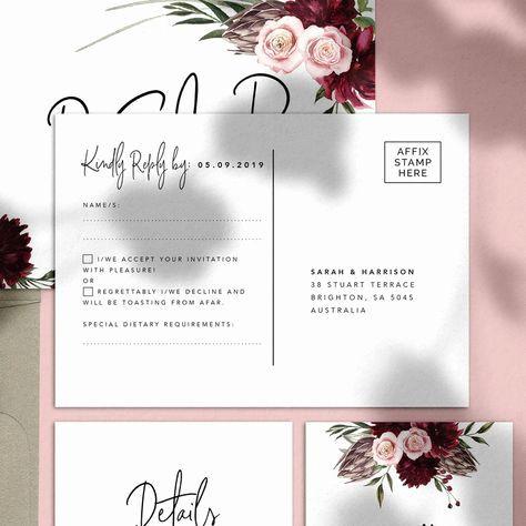 Pinterest Wedding Invitation Templates