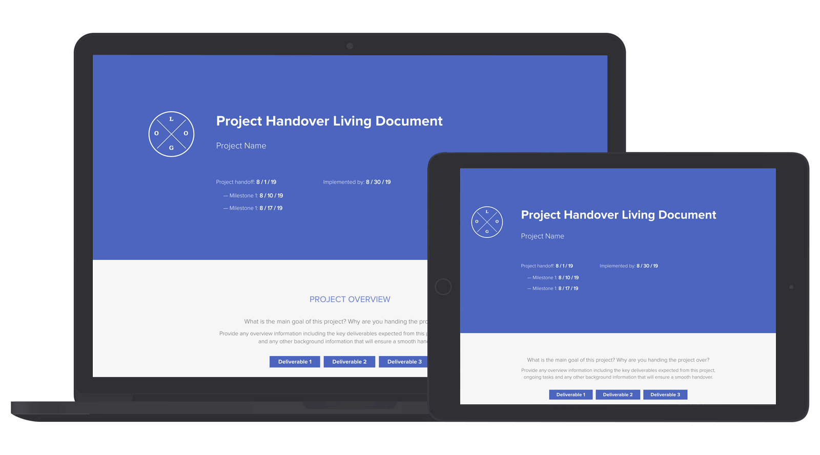 Project Handover Document Template