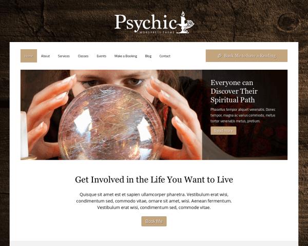 Psychic Website Templates