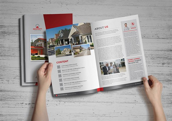 Real Estate Property Brochure Template