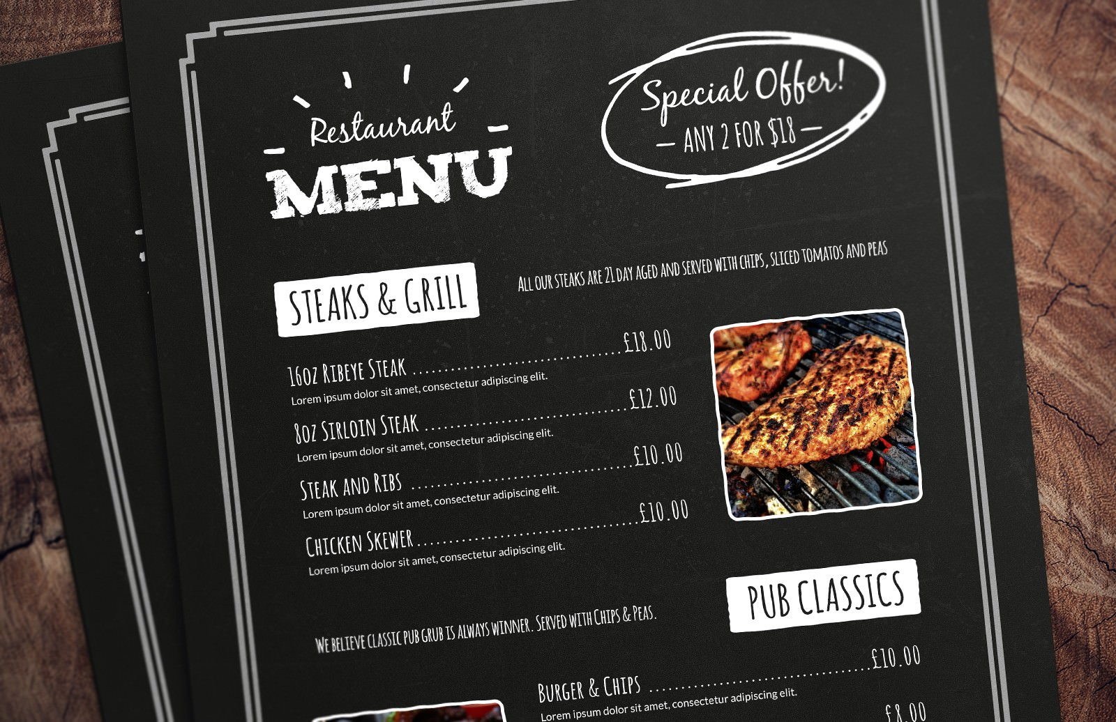 Restaurant Menu Templates For Mac