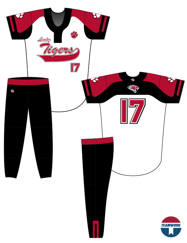 Softball Uniform Design Templates