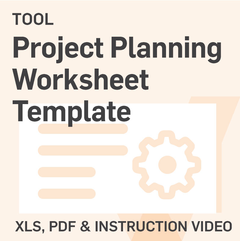 Template Project Planning Worksheet