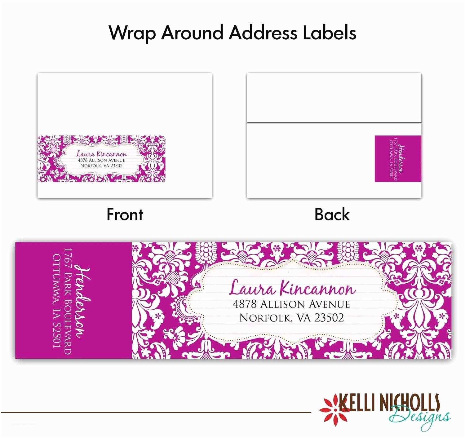 Fancy Address Labels For Wedding Invitations Invitation Labels Template Gallery Invitation Sample And