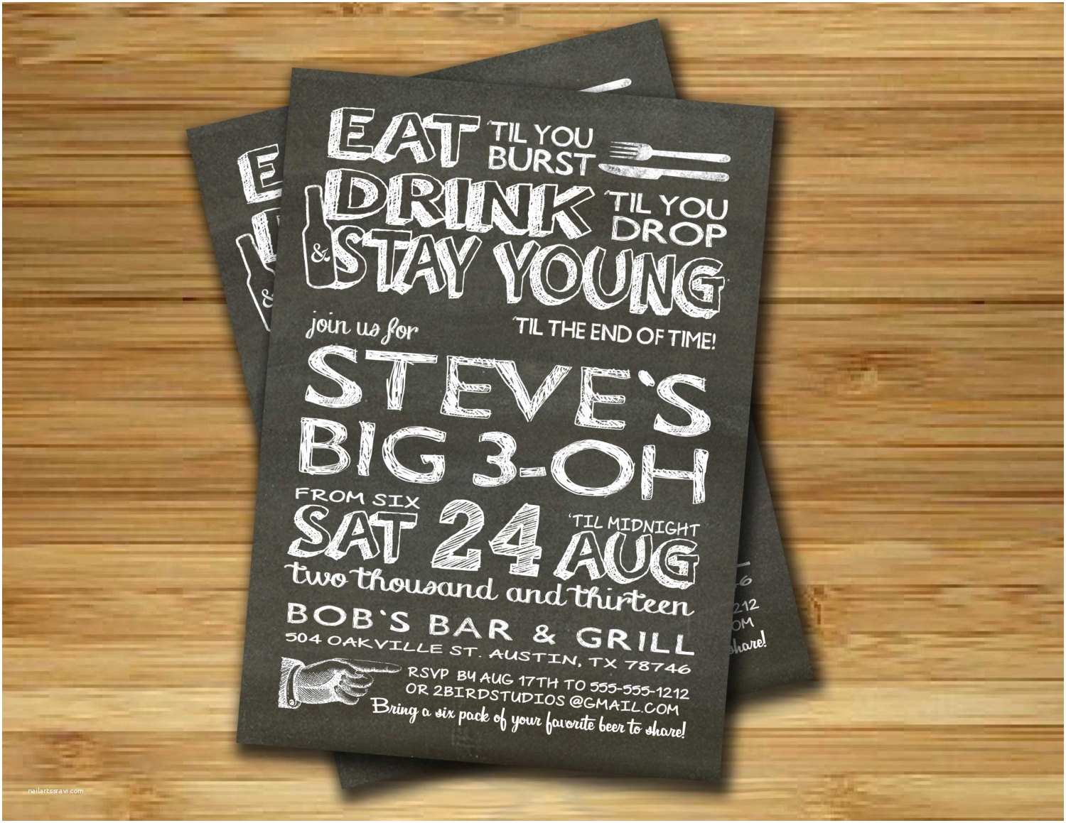 40th Birthday Invitations For Him 40th Birthday Invitations For Him ? Gangcraft