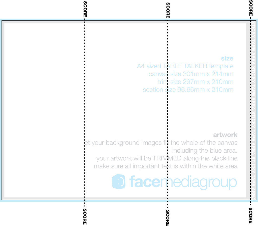 A4 Tri Fold Brochure Template Illustrator