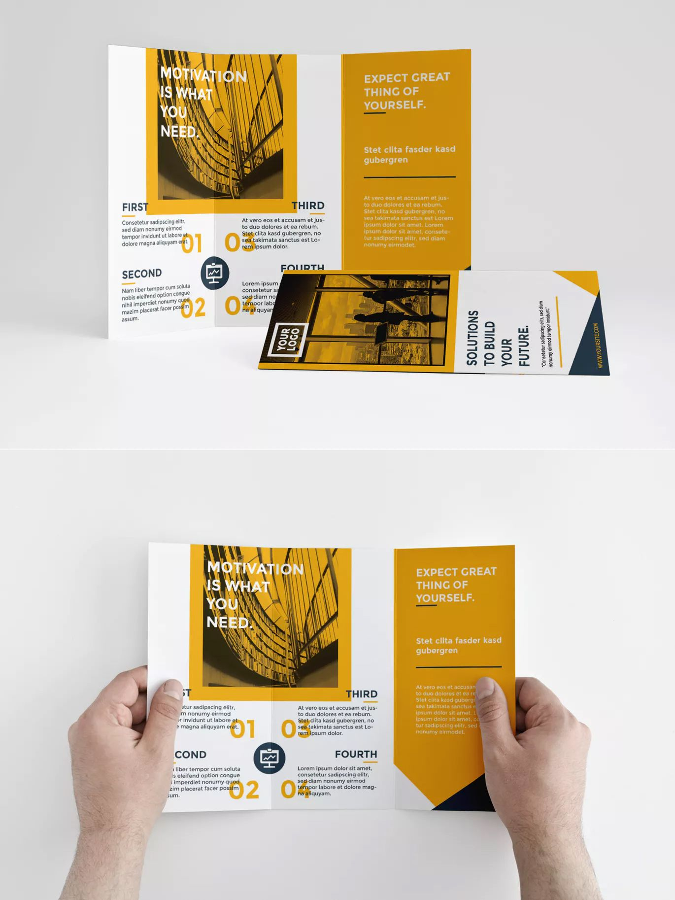 A4 Tri Fold Brochure Template Indesign