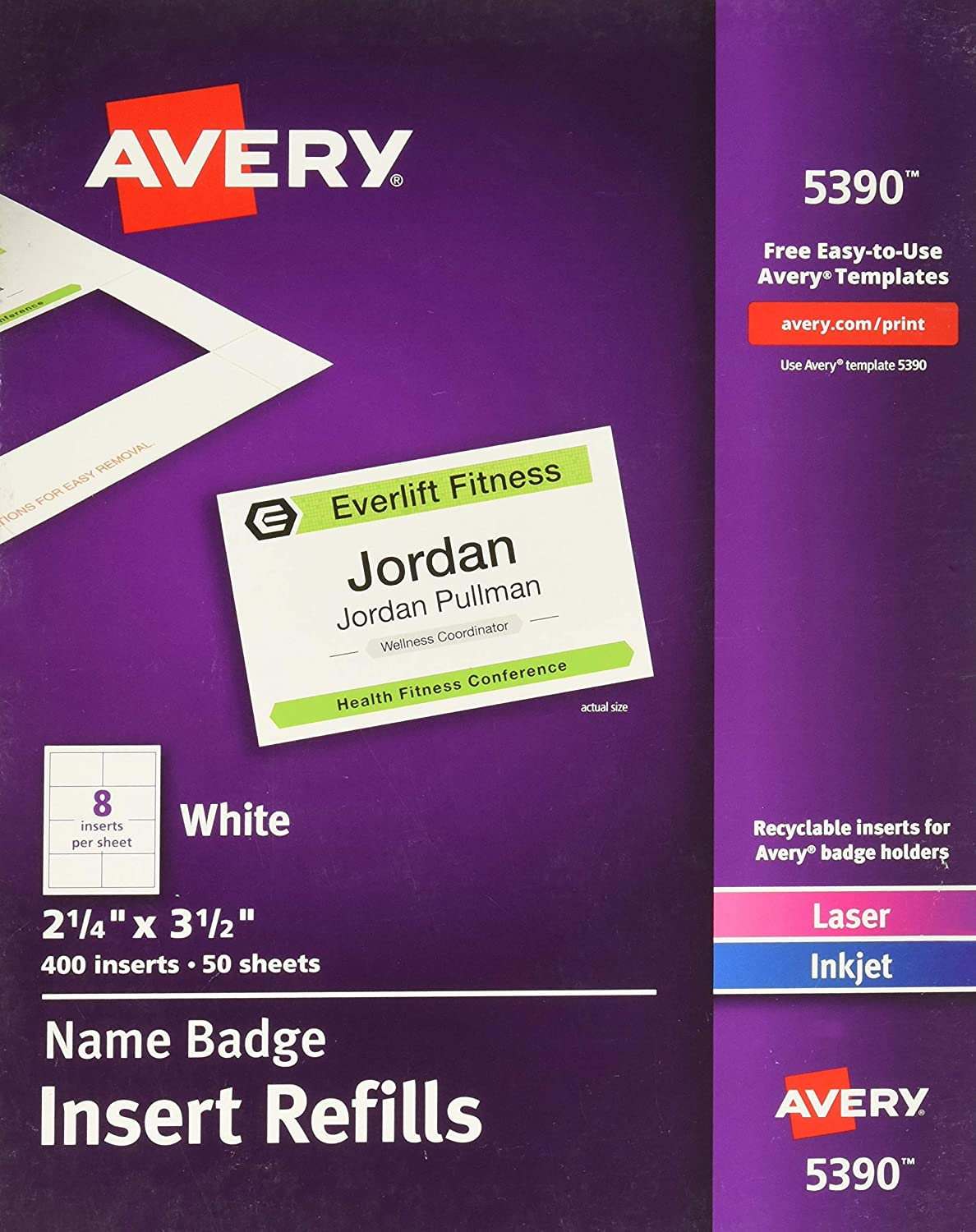 Avery Templates For Name Badges