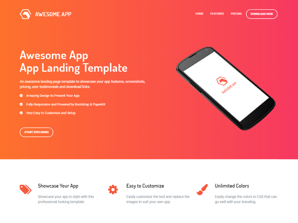 Bootstrap Premium Templates Free Download