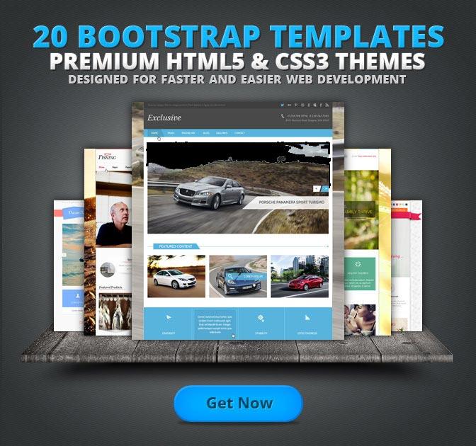 Bootstrap Premium Templates