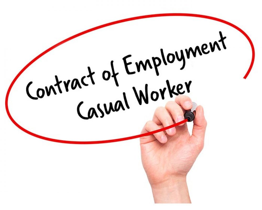 Casual Employment Contract Template