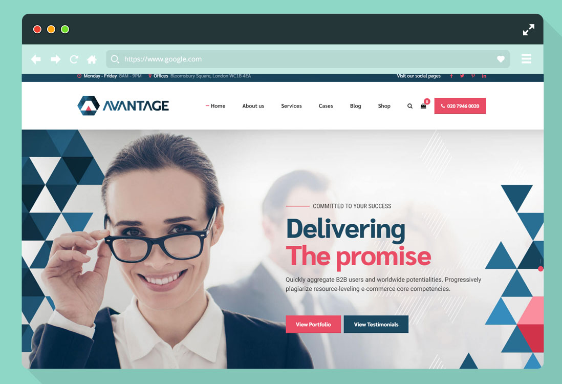 Consulting Website Templates