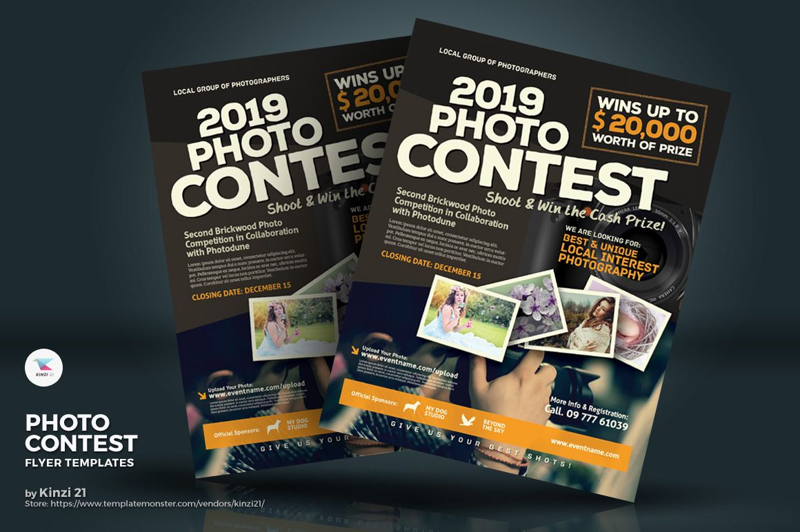 Contest Flyers Templates