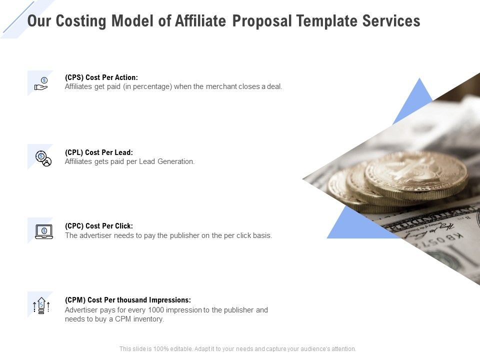 Costing Proposal Template