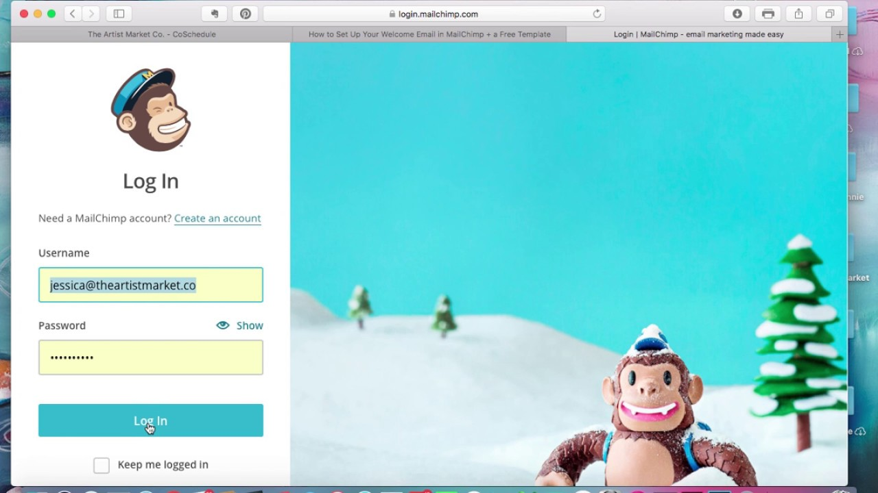 Create A Mailchimp Template
