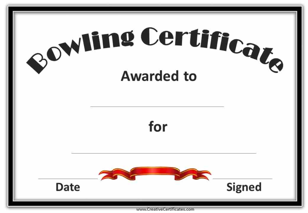 Customizable Funny Awards Certificates Templates Free