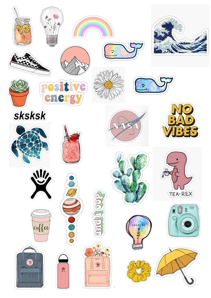Cute Printable Sticker Templates