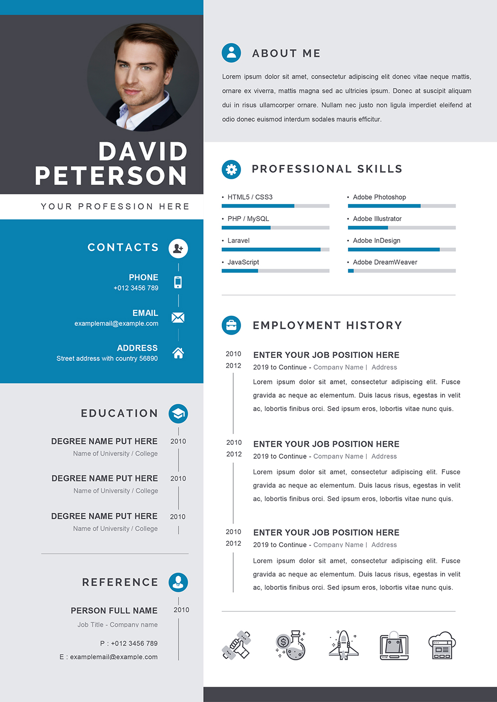 Downloadable Cv Template Word
