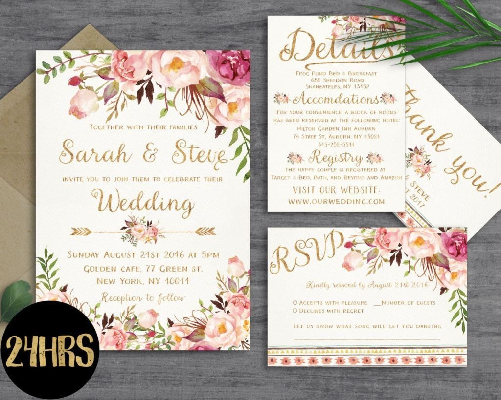 Free Printable Wedding Invitation Templates For Word Printable Wedding Invitation Templates Free Printable Wedding