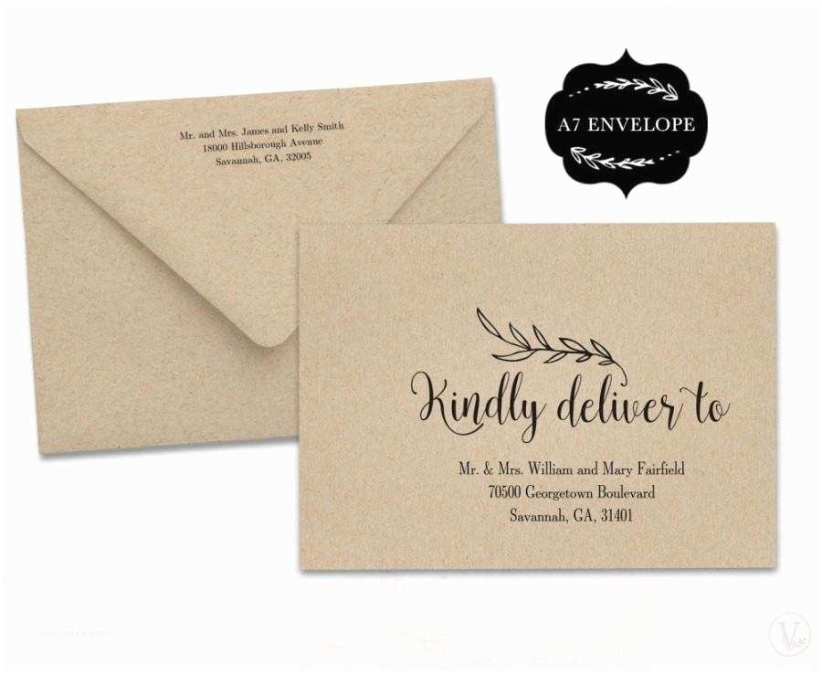 Wedding Invitation Envelope Address Template Wedding Envelope Template Printable Wedding Envelope