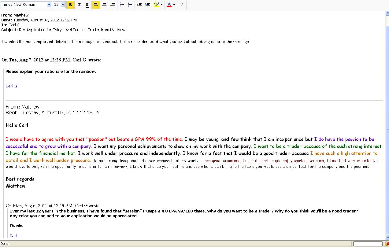 Email Etiquette Template
