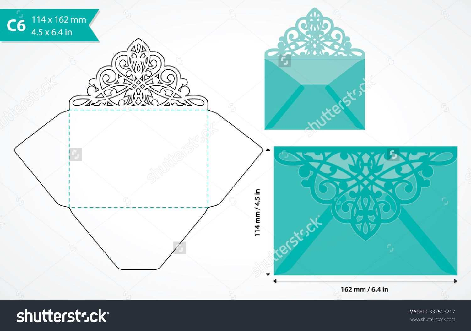 Envelope Invitation Template