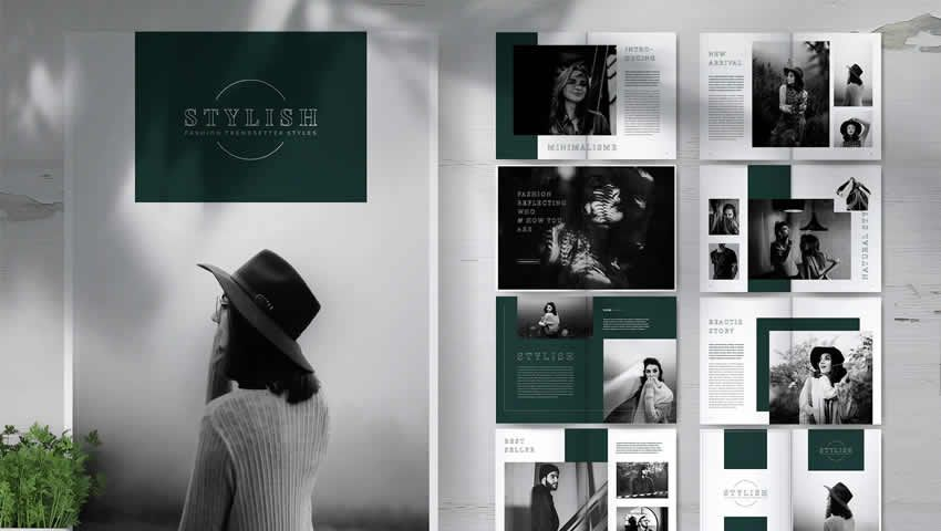 Free Brochure Templates For Indesign