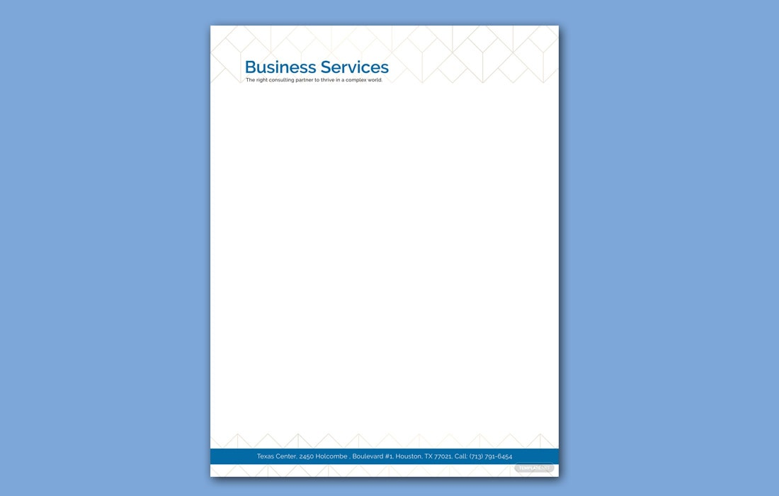 Free Letterhead Design Templates Word