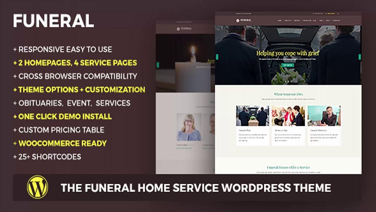 Funeral Website Templates