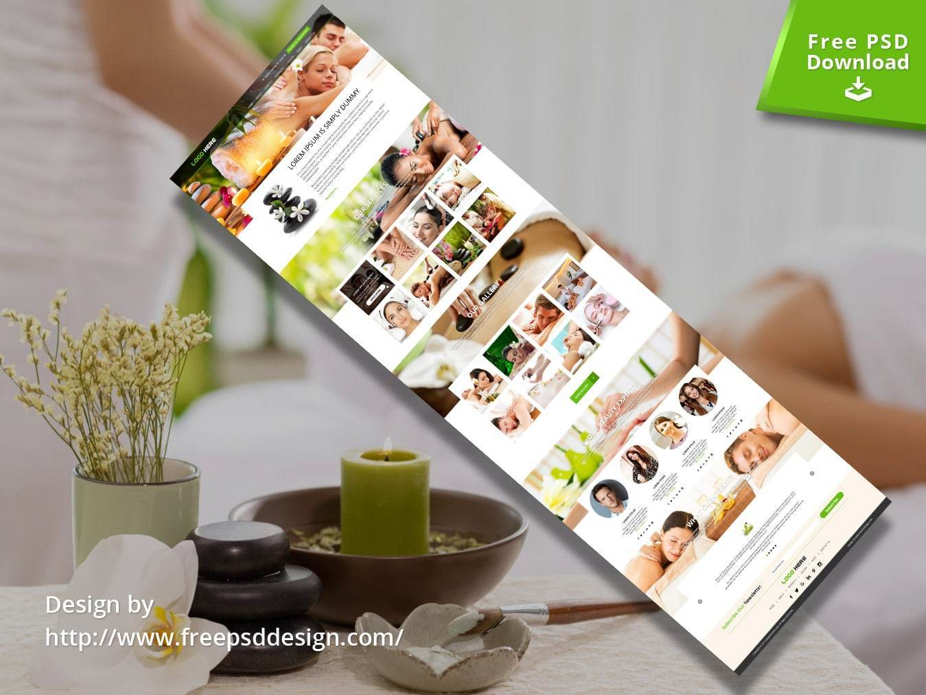 Hair Salon Website Templates Free Download