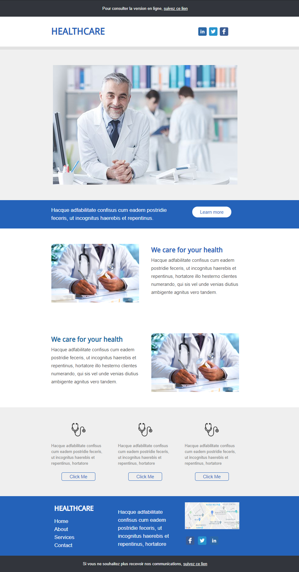 Healthcare Newsletter Templates Free