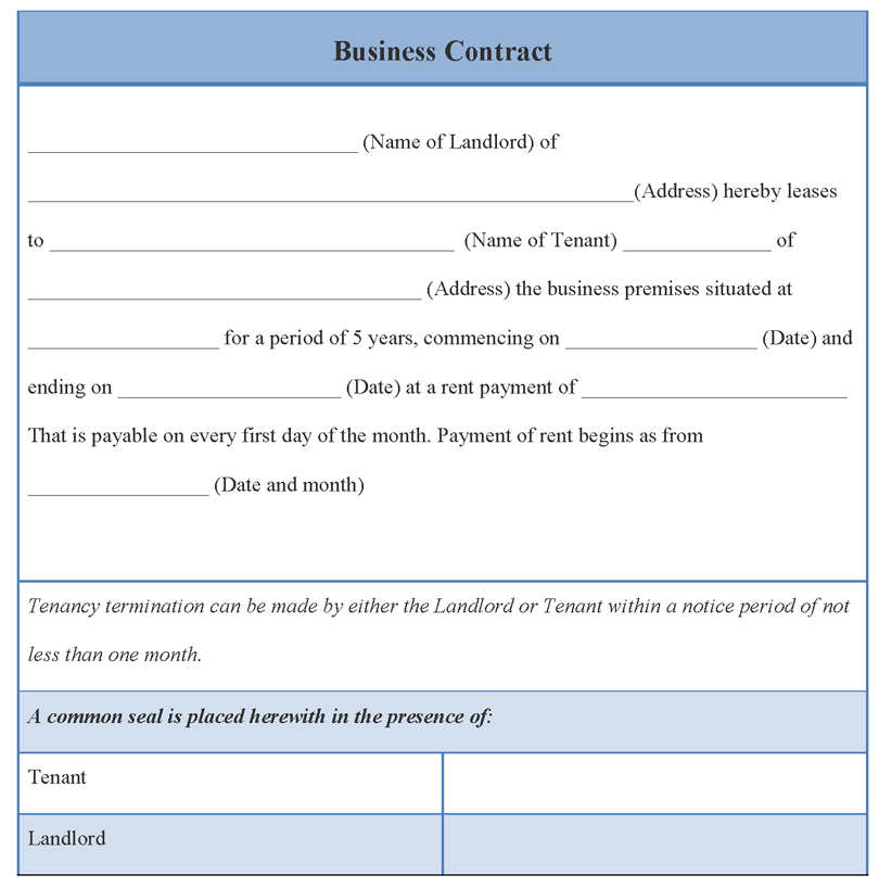Investment Contract Template Free Word