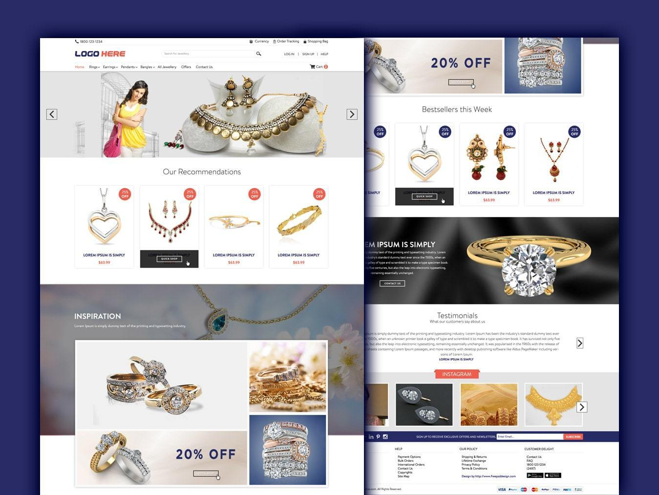 Jewellery Website Templates Free Download Html With Css