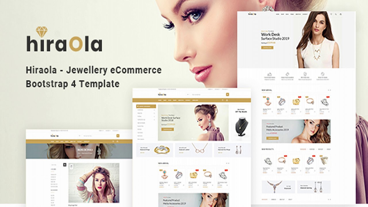 Jewellery Website Templates Themeforest
