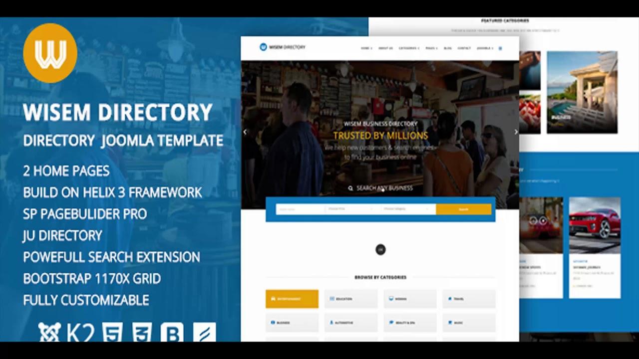 Joomla Directory Template