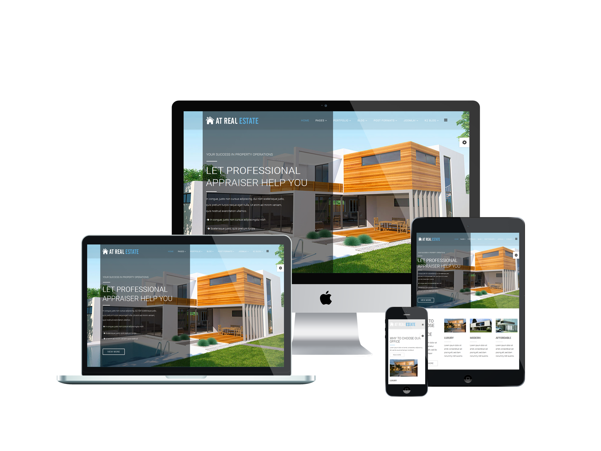 Joomla Templates Real Estate