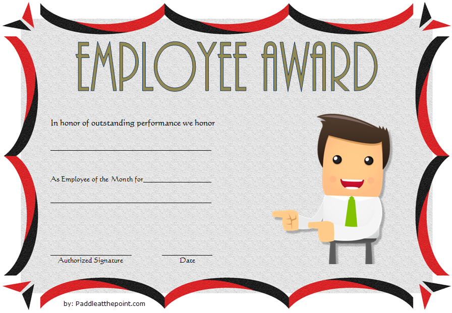 Long Service Award Certificate Template Word