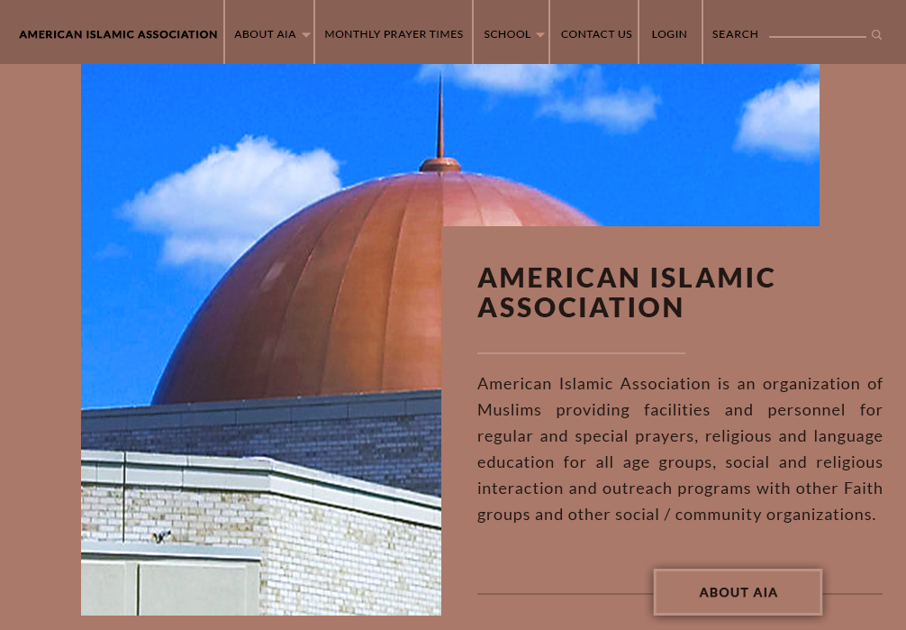 Masjid Website Template Free