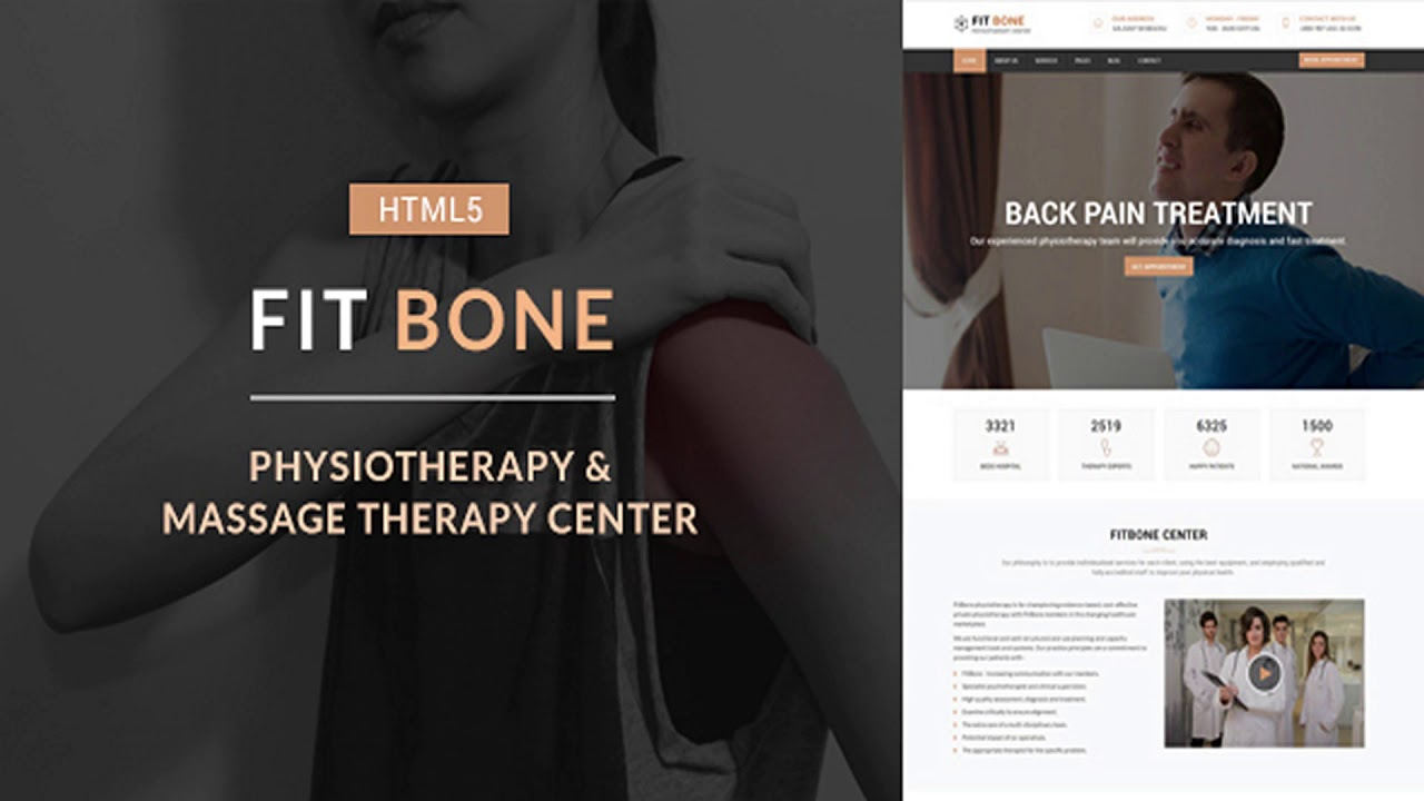 Massage Therapy Website Templates