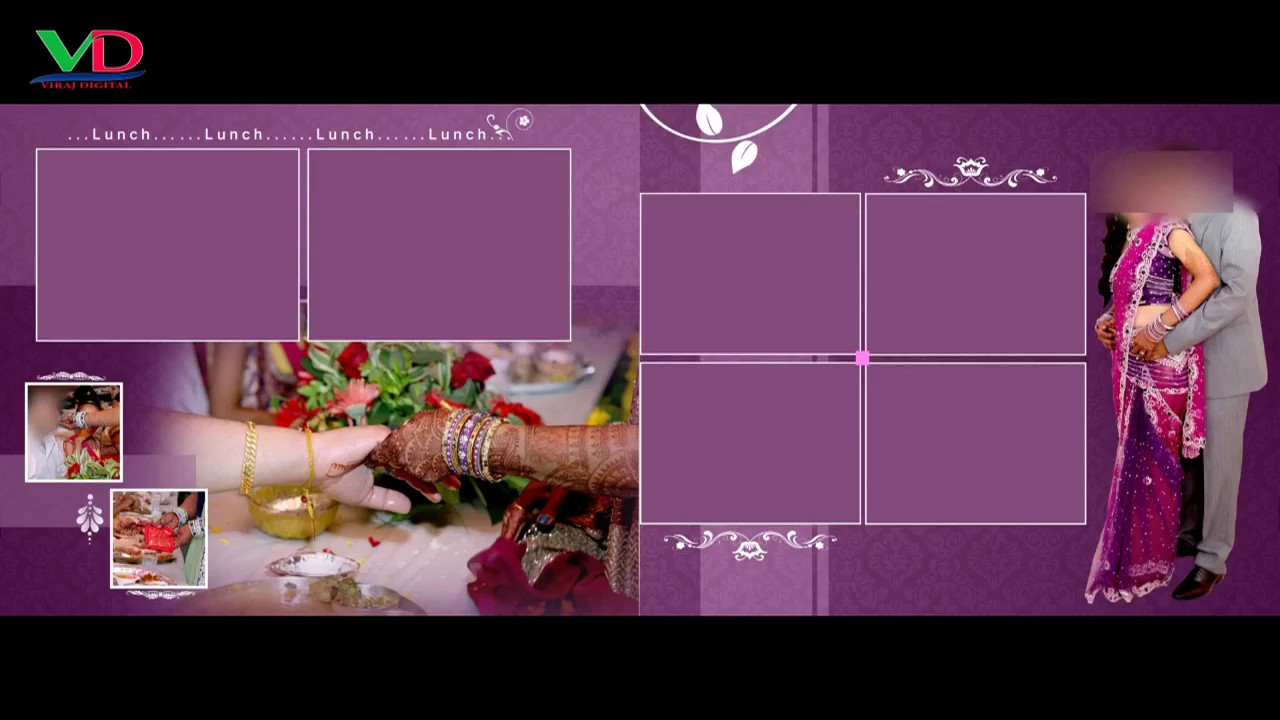 Photoshop Wedding Album Templates Free Download