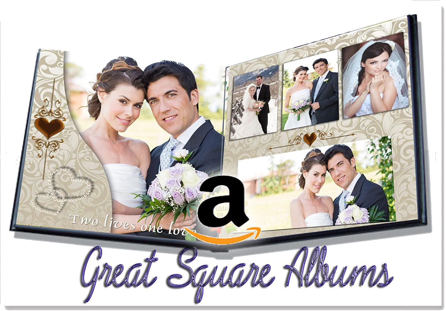 Photoshop Wedding Album Templates