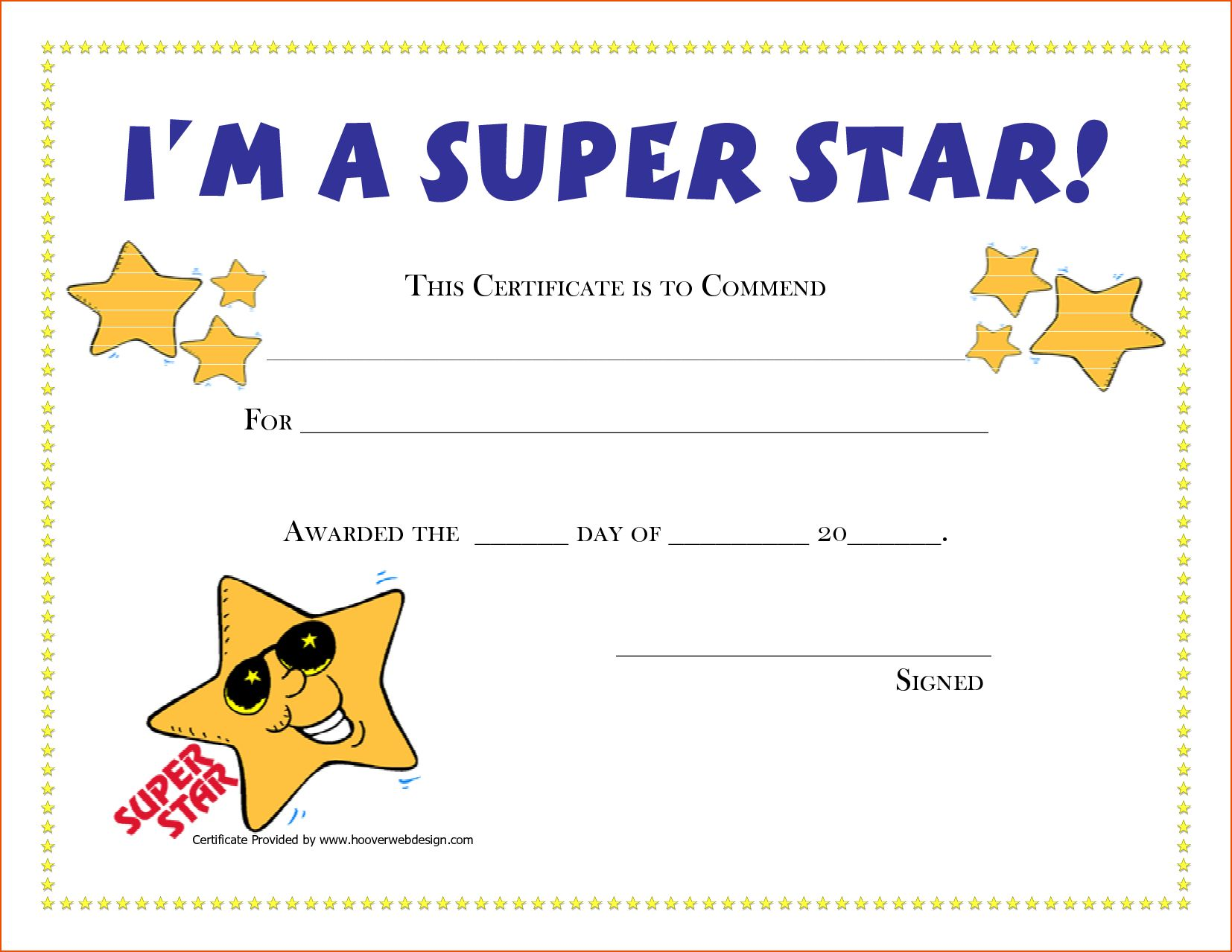 Printable Funny Awards Certificates Templates Free